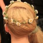 Hair up daisy